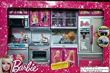 Barbie Dream house Kitchen Set Light & S...
