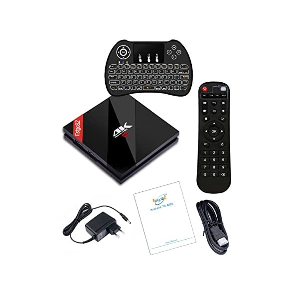 EstgoSZ-Smart-TV-Box-3GB-64GB-Android-71-OsAmlogic-S912-Octa-Core-64-Bits-4K-Ultra-HD-Mini-PC-Support-WiFi-24-Ghz50-Ghz-1000M-LAN-4K-3D-Bluetooth-41-avec-Mini-Backlit-Clavier-sans-Fil