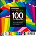 100 Sheets Single and Double Sided Origami Paper