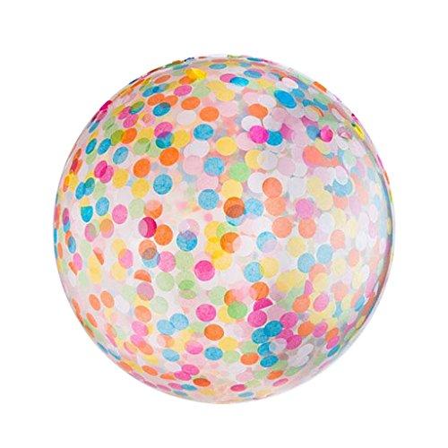 Segolike 36'' CONFETTI BALLOONS Helium Balloon Wedding Birthday Party Festival Valentine's day Decor