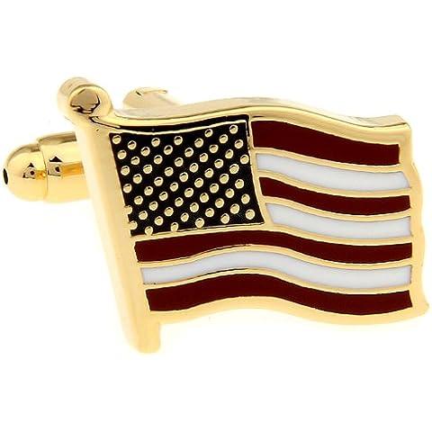 Bandiera degli Stati Uniti gemelli - Novità American Flag