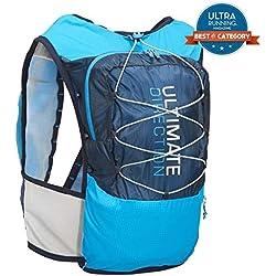Ultimate Direction montaña Chaleco V4 HOMBRE CORRER Hidratación Chaleco Azul - Azul, Medium