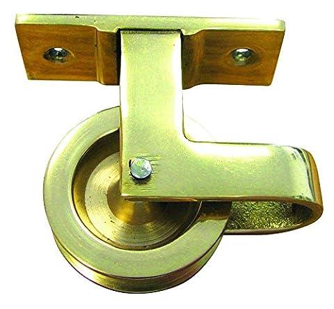 HSI Drapeau hiß rouleaux Paysage laiton 30mm, 1pièce, 345410.0