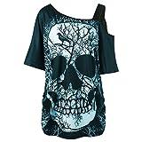 MERICAL T-Shirt à Manches Courtes à Manches Courtes pour Femmes
