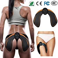 SHENGMI EMS Intelligent Buttock Trainer, Electric Hips Trainer Muscle Stimulator Buttocks Lift Enhancer Pad, Lifting/Shaping/Firm/Beautify The Hip Body Workout Fitness Weightloss Massager Machine