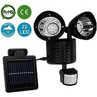 AMOS 22 LED Luce Solare Brillante Esterna Luce di Sicurezza