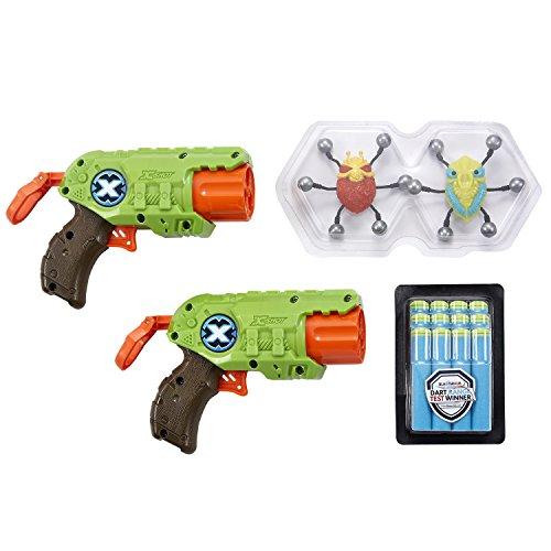 X-SHOT, BUG ATTACK Giocattolo, Colore Green, Orange, Taglia Unica, 4816