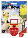 JW Pet Company Insight Activitoys Basketball Bird Budgie Cockatiel Cage Birds Toy