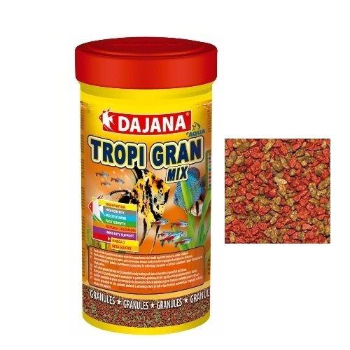 Dajana Tropi Gran Mix - Mangime completo in granuli, per tutti i tipi di pesci (Mangime Per Pesci Animali)