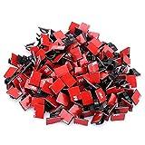 #10: KEDSUM 200pcs Adhesive Cable Clips