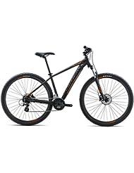Orbea MX 5029pulgadas M bicicleta de montaña 8velocidades Cilindro de aluminio Mountain Bike Hombre Mujer, i206, color negro, tamaño talla única