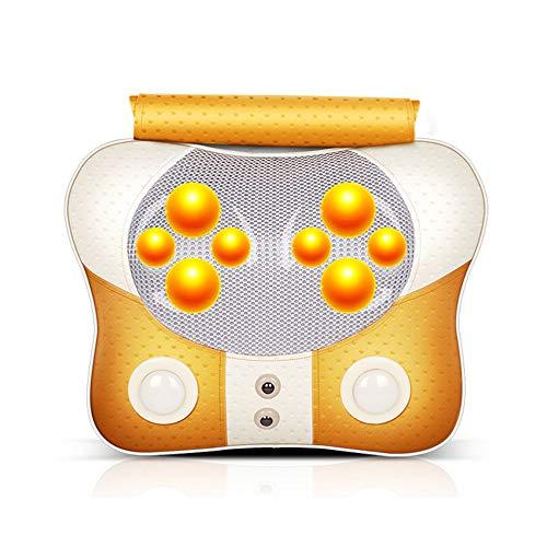 Preisvergleich Produktbild TESITE Massagekissen Heizung Halswirbel Hause Auto MassagegeräT (Gold)
