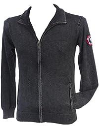 Rivaldi black - Gordonu black veste fz - Vestes pulls zippés