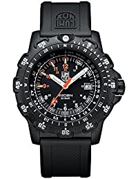 Luminox RECON Point Man - kilometer scale Men's Quartz watch with Black dial featuring LLT Luminox light Technology 45 millimeters Carbon Compound case and Black PU Strap  XL.8821.KM