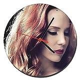 Epica Simone Simons B Wanduhren Wall Clock 20cm