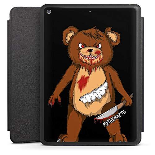 DeinDesign Smart Case schwarz kompatibel mit Apple iPad 6 Hülle mit Ständer Schutzhülle Halloween Horror Mythenakte