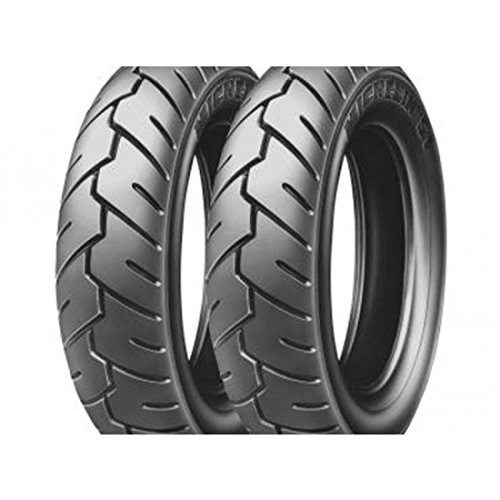 Pneu michelin s1 100/90-10 tl/tt m/c 56j - Michelin 572104697
