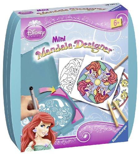 Ravensburger - 29980 5 - Mini Mandala Designer Disney Princess La Sirenetta Ariel