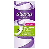 #2: Always Flexi Style Scented Liners 30 per pack
