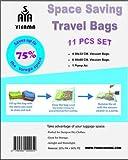 Die besten Gepäck für internationale Reisen - YISAMA Vakuumbeutel Kleidung, Aufbewahrungsbeutel, Vakuumbeutel Staubsauger, Vakuumbeutel Für Bewertungen