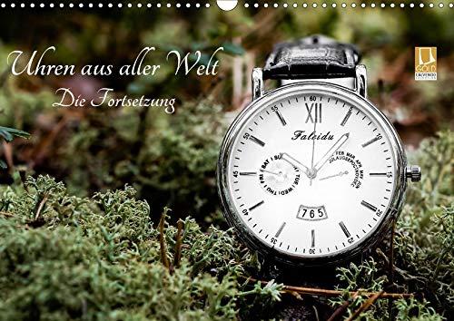 Uhren aus aller Welt - Die Fortsetzung (Wandkalender 2020 DIN A3 quer): Eine Sammlung verschiedener Zeitmesser. (Monatskalender, 14 Seiten ) (CALVENDO Technologie)