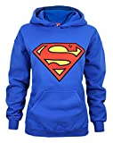 Donne - Official - Superman - Felpa Con Cappuccio (L)