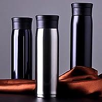 Bazar 600ml Moda comercio taza de viaje termo de acero inoxidable botella de Thermos