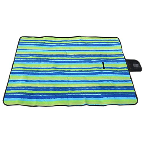 Mode New 150cm * 200cm En Plein Air Durable Multicolore Imperméables Tapis De Pique-nique Tapis De Plage,01 05
