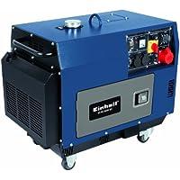 Einhell Diesel Stromerzeuger BT-PG 5000 DD (Drehstrom, 4200 W Dauerleistung, 6,3 kW, 418 cm³ Hubraum, 16 l Tank, 2x230 V/1x400 V/1x12 V Steckdose)