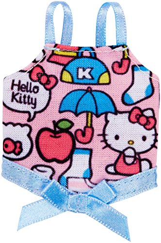 Barbie Fashions Hello Kitty Pink Print Tank with Blue Bow -