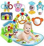 Ole Baby Kick Play Musical Activity Play Gym-Newborn Floor mat