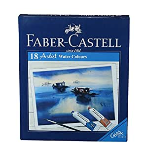 Faber-Castell Artist Water Colour - Pack of 12 (Multicolour)