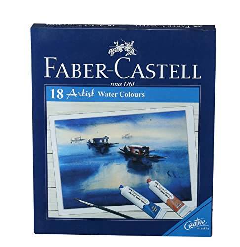 Faber-Castell Artist Water Color – Pack of 18 (Assorted)