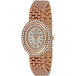 Fabiano New York Casual & Party-Wedding Rose Gold Metal Women & Girls Analog Wrist Watch FNY096
