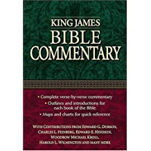King James Bible Commentary by Edward G. Dobson (2000-11-15)