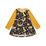 bobo4818 Toddler Baby Mädchen Dress Animal Pattern Outfit Clothes Kleid Langarm MäDchen (90(2Jahr-3Jahr))