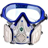 Maschera Antigas del Silicone, Respiratore della Vernice del Fronte Pieno,  Respiratore Protezione Respiratoria contro 21a76b8eb0d0