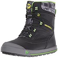 Merrell Boys ml-b Snow Bank 2.0 Waterpoof High Rise Hiking Boots