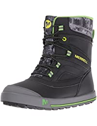 Merrell Snow Bank 2.0 Waterproof, Zapatos de High Rise Senderismo para Niños