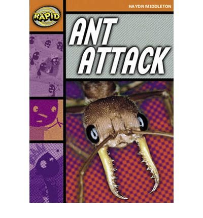 Rapid Stage 4 Set B: Ant Attack (Series 1) (Rapid Series 1) (Paperback) - Common