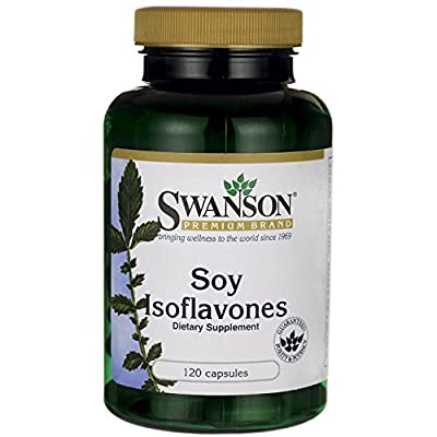 Swanson Soy Isoflavones (750mg, 120 Capsules) by Swanson Health Products