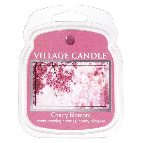 Village Candle Premium Wax Melt Pack für Öl/Wachs-Brenner, Cherry Blossom -