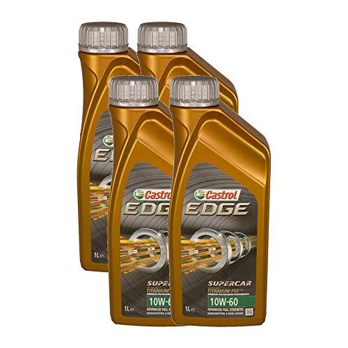 Olio motore auto Castrol Edge Titanium FST Supercar 10W60-4 LITRI