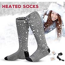 Kit calcetines térmicos con batería eléctrica recargable Clima térmico Calcetines térmicos Funciona con pilas Calentadores deportivos