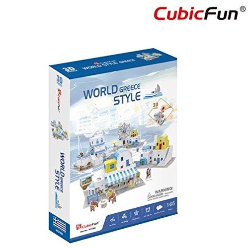 Cubicfun 3d world style collection puzzle 3d