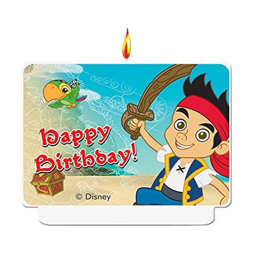 Disney Yo Ho Jake und die nie Land Piraten Geburtstag Kerze (Piraten Und Kuchen Nimmerland Jake Die)