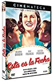 Cinemateca: Esta es la Fecha - It's a Date V.O.S. (1940) [DVD]