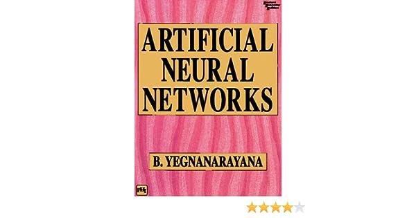 By yegnanarayana pdf network neural artificial b