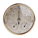 Exing Wandmontierte Haushaltsbarometer Thermometer Hygrometer Wetterstation hängen - Messbereich: -30~50 ℃; 0~100% RH; 970~1050 hPa