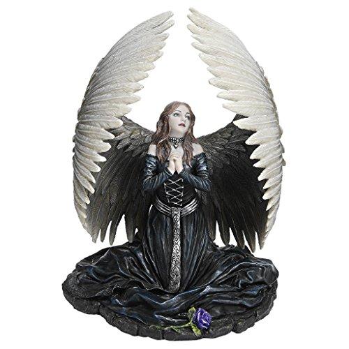 Design Toscano Gebet für den gefallenen Engel, Figur der Künstlerin Anne Stokes
